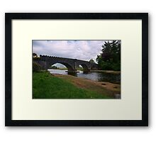 Sheilfoot Bridge Framed Print