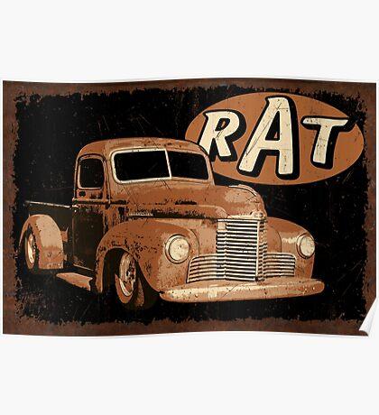 RAT Rust Truck Poster