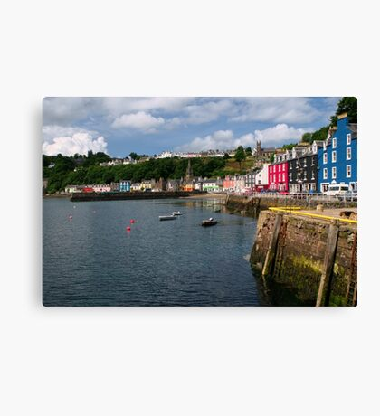 Tobermory, Isle of Mull Canvas Print