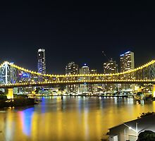 Story Bridge from Fortitude Valley by Ray Macey