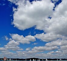 Boats on the Bay by Ashley Ng