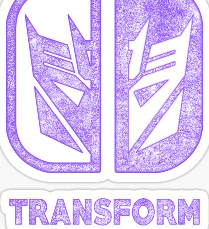 Decepticons switch Sticker