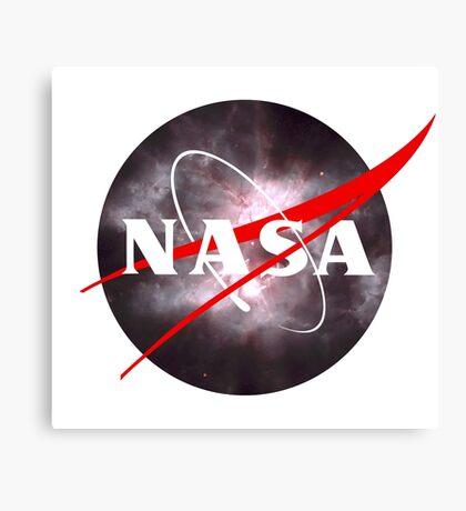 Nasa Meatball Logo - Hubble Space Edition Canvas Print