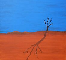 TREE SILHOUETTE (AUSTRALIAN OUTBACK) by RoseLangford