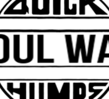 Soulwax. Transparency edition. Sticker