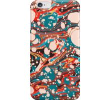 Psychedelic Marbling Paper Blob iPhone Case/Skin