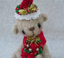 Noelle, Handmade bear from Teddy Bear Orphans by Penny Bonser