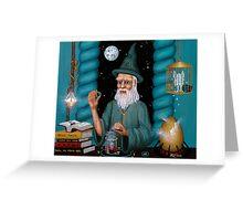 Wizards Workshop Greeting Card