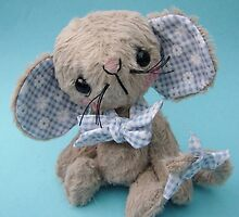 Montague Mouse Handmade bear/mouse from Teddy Bear Orphans by Penny Bonser