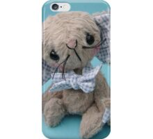 Montague Mouse Handmade bear/mouse from Teddy Bear Orphans iPhone Case/Skin