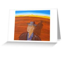 SEARCHING FOR CLOUDS (OUTBACK AUSTRALIA) Greeting Card