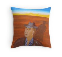 SEARCHING FOR CLOUDS (OUTBACK AUSTRALIA) Throw Pillow