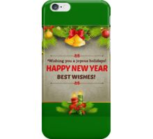 HAPPY NEW YEAR, BEST WISHES iPhone Case/Skin