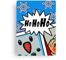 Pop Art Ho Ho Ho Canvas Print