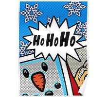 Pop Art Ho Ho Ho Poster