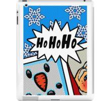 Pop Art Ho Ho Ho iPad Case/Skin
