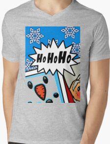 Pop Art Ho Ho Ho Mens V-Neck T-Shirt