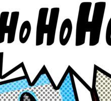 Pop Art Ho Ho Ho Sticker