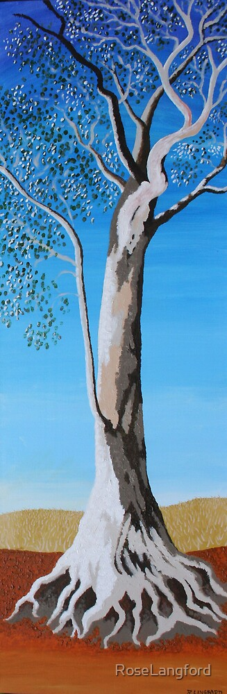 RIVER RED GUM (AUSTRALIAN OUTBACK) by RoseLangford
