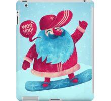 Snowboarding Christmas iPad Case/Skin
