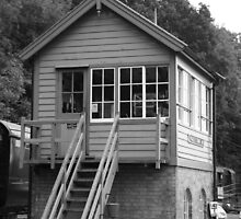 Highley Signal Box by Justine Humphries