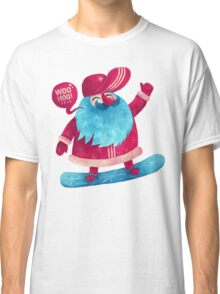 Snowboarding Christmas Classic T-Shirt