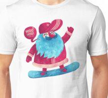 Snowboarding Christmas Unisex T-Shirt