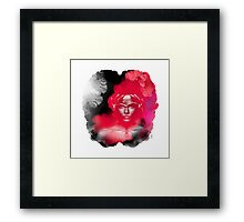 Voodoo Psychedelic Ink Woman Vision Framed Print