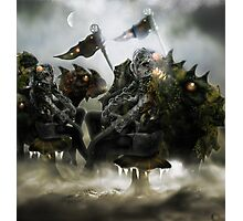 Robot Beings of the Mecha-Frost 2 Photographic Print