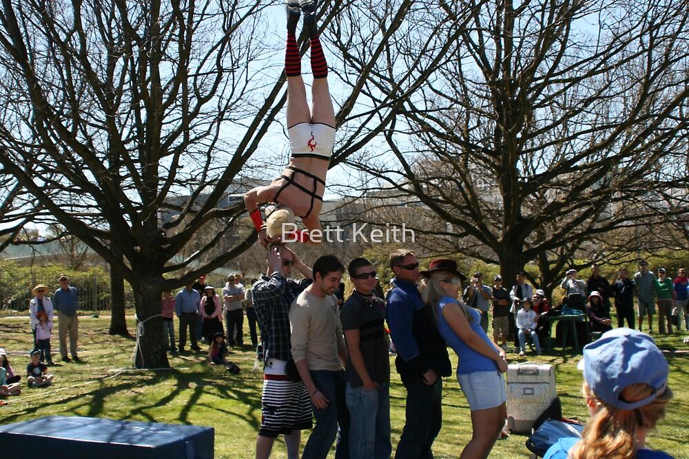 Street Performer by Brett Keith