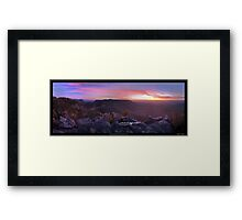 Narrow is the road to life and only a few find it Framed Print