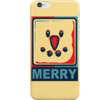 Merry Christmas Snowman iPhone Case/Skin