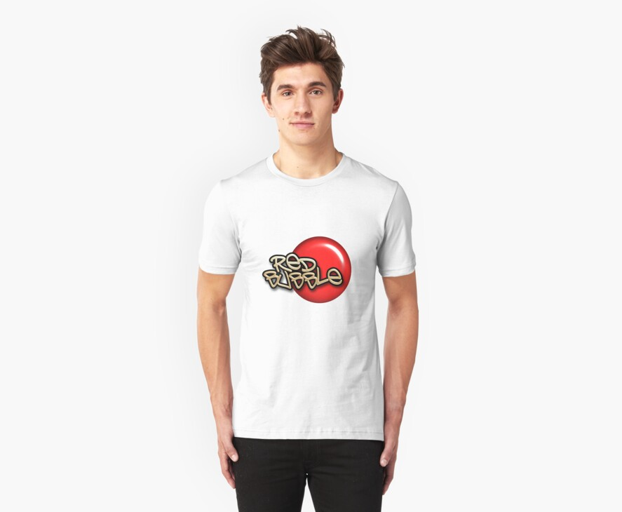 Red Bubble Tee by quigonjim