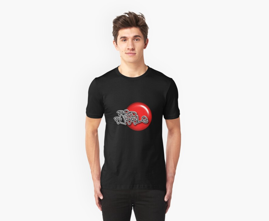 Red Bubble Tee V.2 by quigonjim