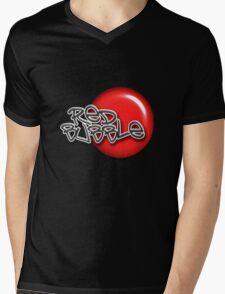 Red Bubble Tee V.2 Mens V-Neck T-Shirt