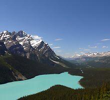 Lake Peyto by Josh Meggs