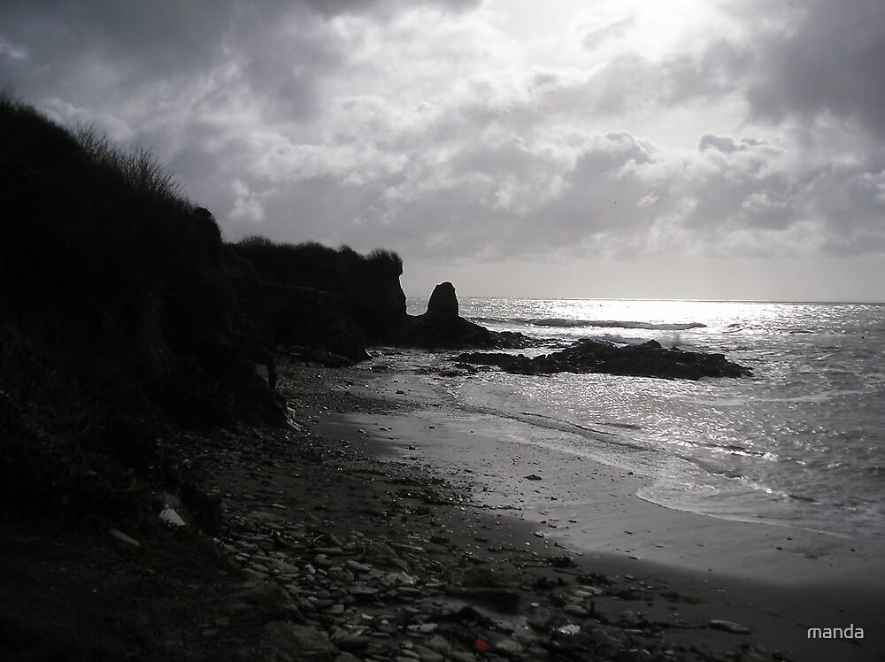 Cornish seas by manda