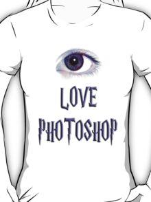 Eye Love Photoshop T-Shirt