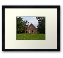 once upon a church... Framed Print