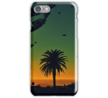 Blue & Orange Beach iPhone Case/Skin