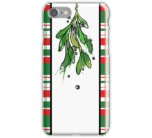 Christmas Mistletoe iPhone Case/Skin