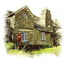 Tintagel Post Office Photographic Print