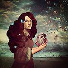 Butterflies in my heart by Paula Belle Flores