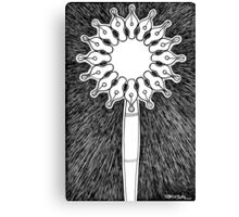 Pen and nibs Canvas Print