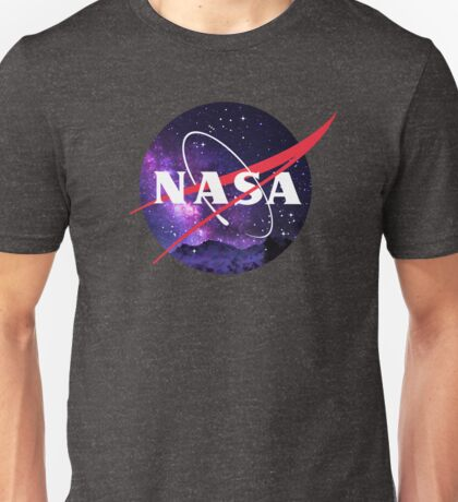 NASA Galaxy Unisex T-Shirt