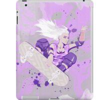 Skate Girl Purple Fly iPad Case/Skin
