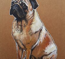 Churro #2 Pug by PAINTMYPUG
