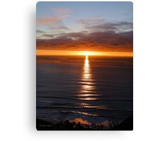 San Francisco Sunset 1412 Canvas Print
