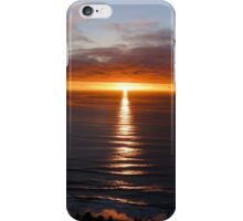 San Francisco Sunset 1412 iPhone Case/Skin