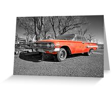 Chevrolet Impala  Greeting Card